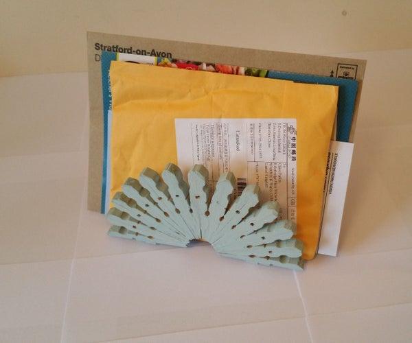 Peg Letter Rack