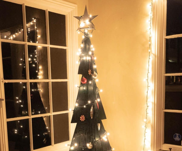 Sustainable Wooden Christmas Tree