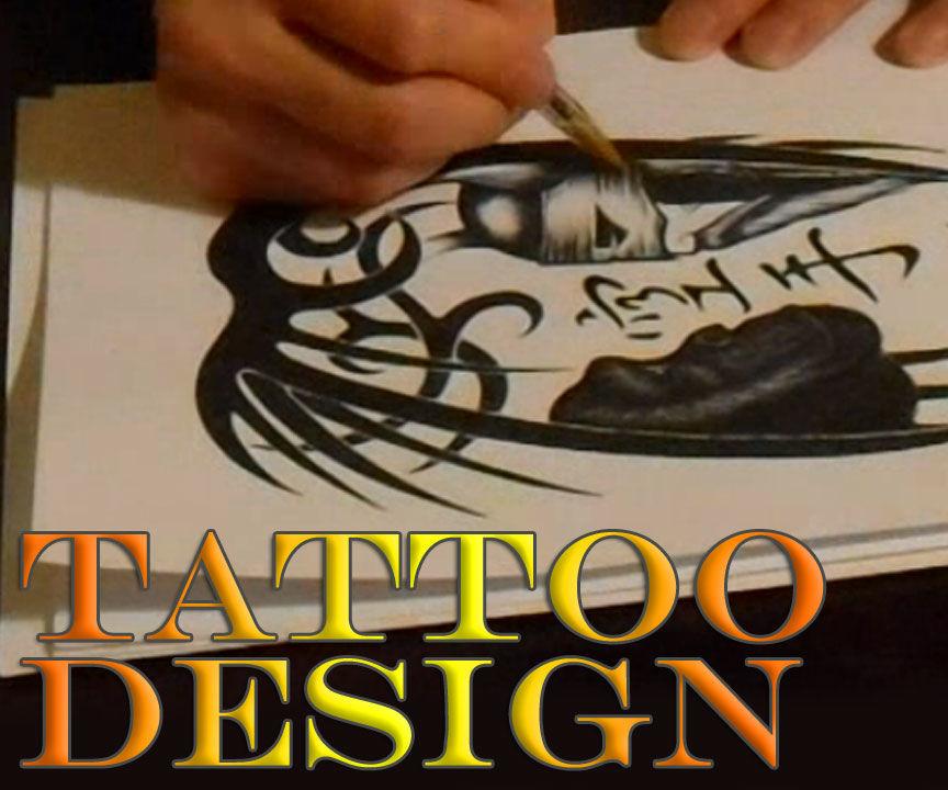 Tattoo Design - Human, Chimp & Computer - Draft #2