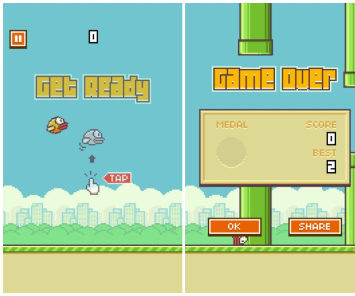 Backup your Flappy Bird and share it with friends