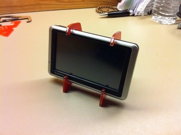 Laser Cut GPS Holder - I Made It at TechShop