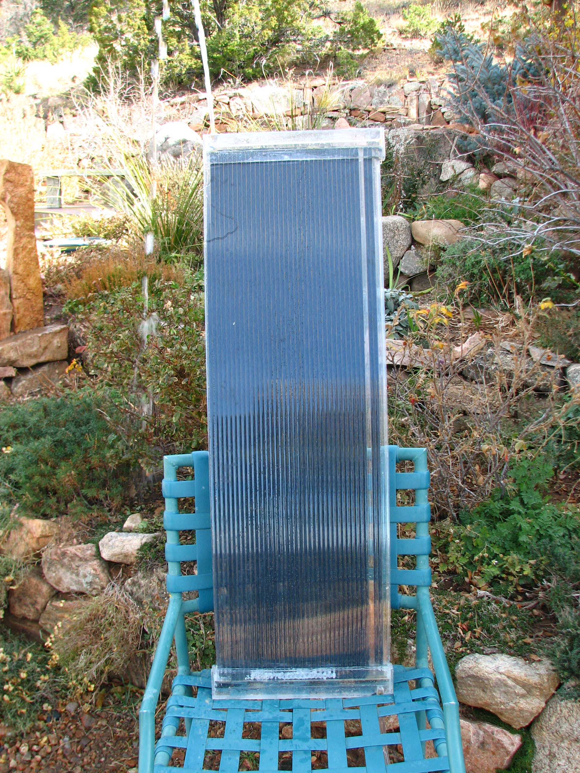 Solar Thermal Particle Panel