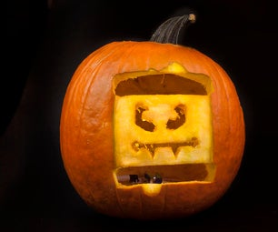 LittleBits Projects: Halloween Hack-o-Lantern