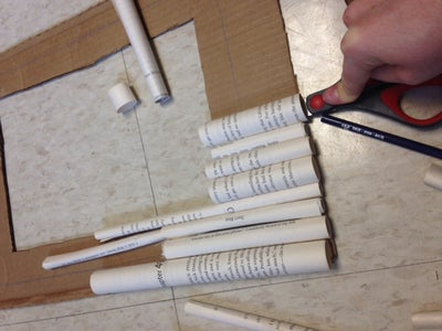 Attaching the Rolls of Paper