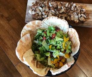 Savory and Refreshing Chicken Shawarma Salad