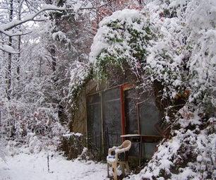 Tiny Underground Solar House