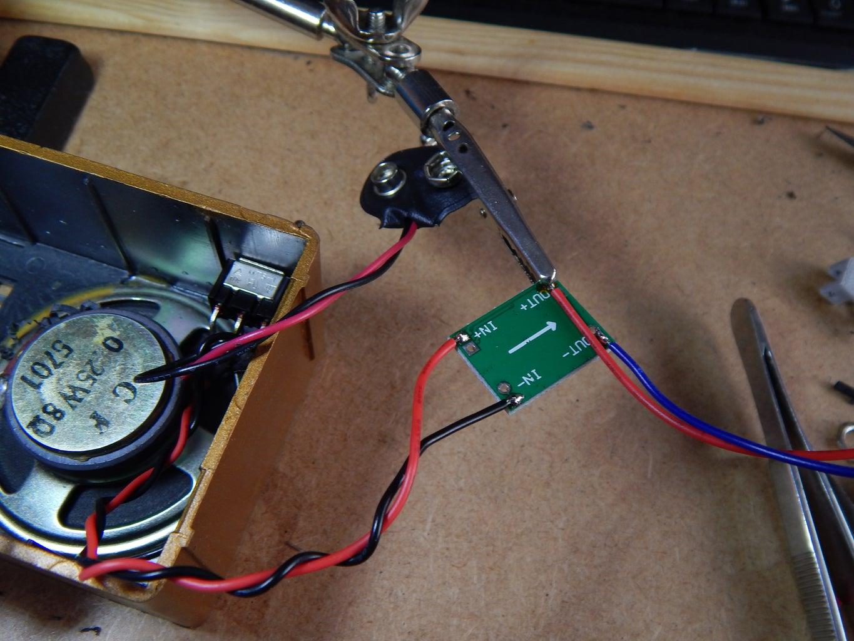 Wiring the DCDC Converter