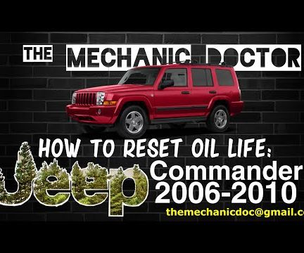 How to Reset Oil Life: Jeep Commander 2006-2010