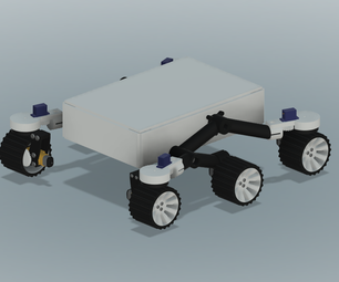 Arduino Based Perserverance Rover Model (Fusion 360)