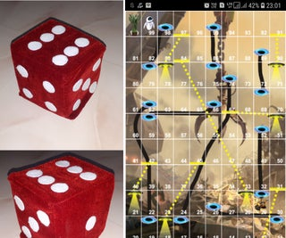 Soft Toy Bluetooth Dice and Develop Android Game With MIT App Inventor