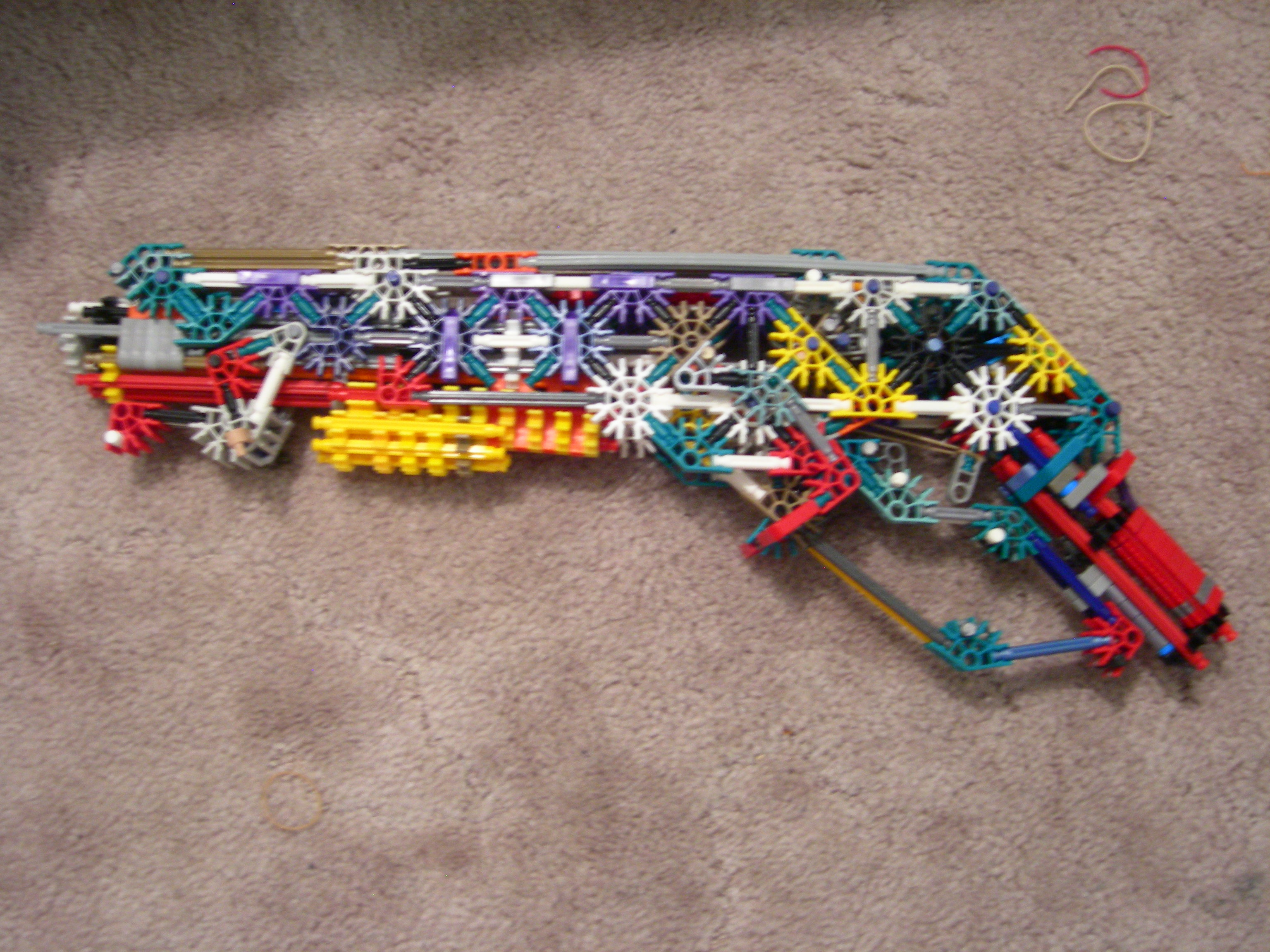 The KING of K'nex RBGs: the Gnasher Shotgun