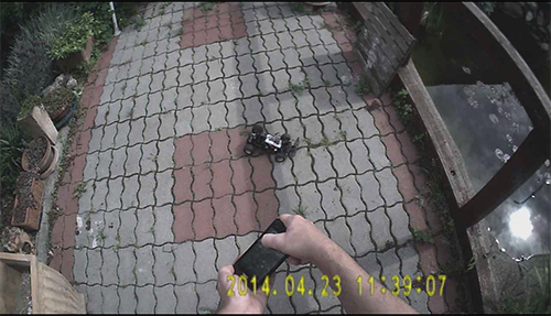 Old RC Car Hacked: Android Control Via Bt. (Accelerometer Steering)