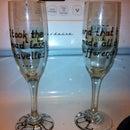 Best Friend Champagne Flutes