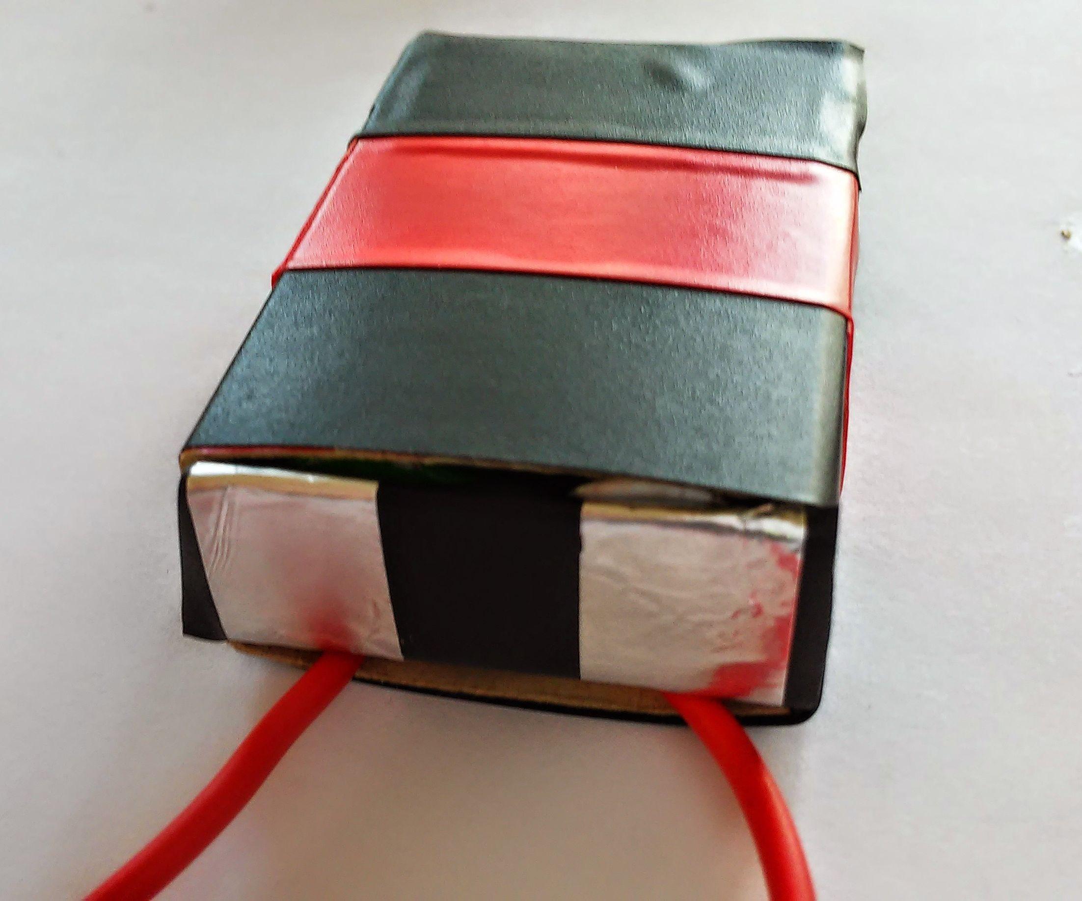 D.I.Y Matchbox Battery Holder