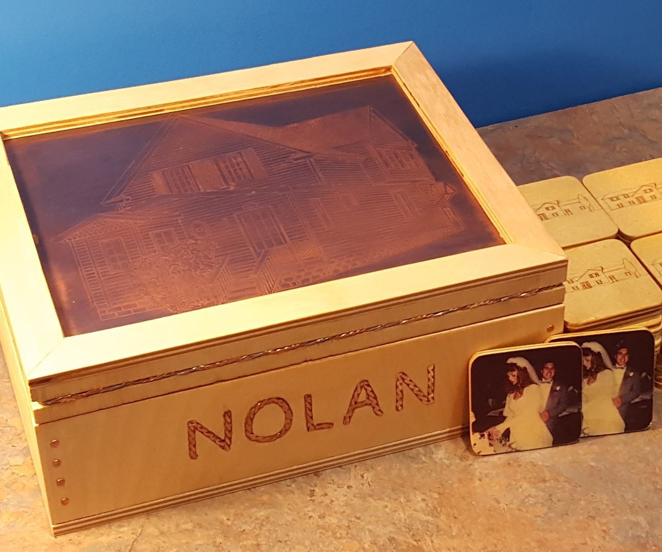 Memory Game of Memories- Transferring Pictures to Wood