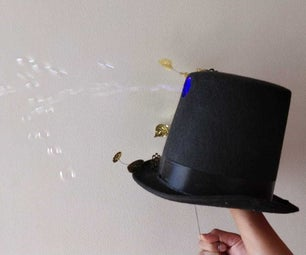 Bubble Blowing Top Hat