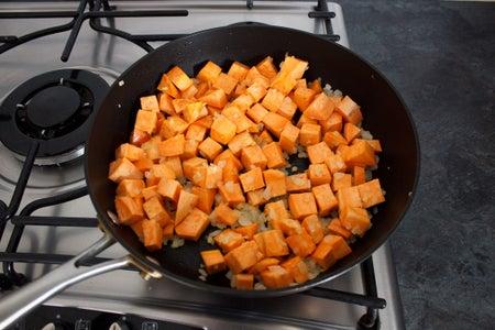 Add the Sweet Potato...