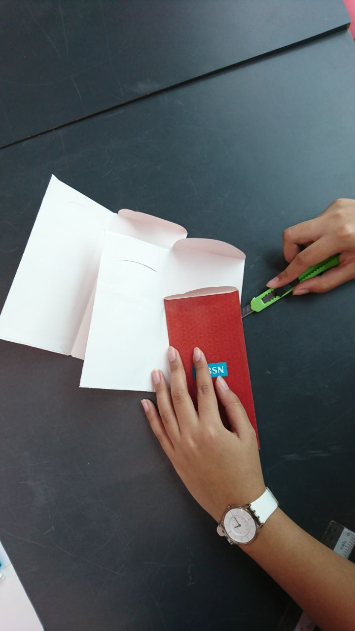Cut 3 Packets and Glue Them Together