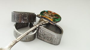 Antique Collector Spoon Ring