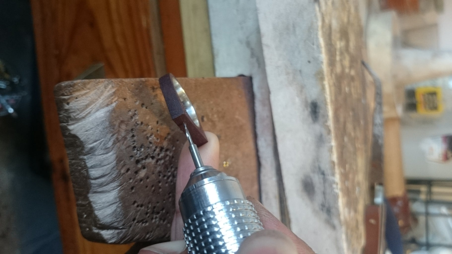 Placing the Bezel on the Ring