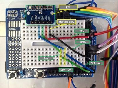 RTC - Wiring