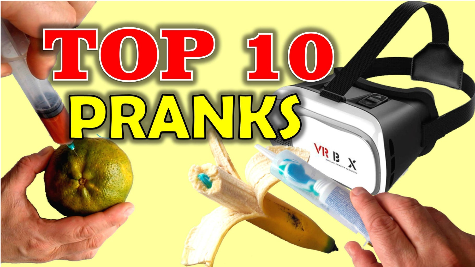 TOP 10 PRANKS - Easy Pranks to Make Your Friends