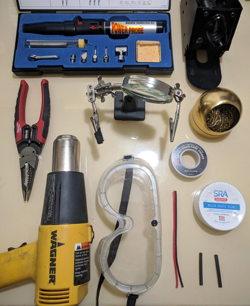 How to Solder Wiring