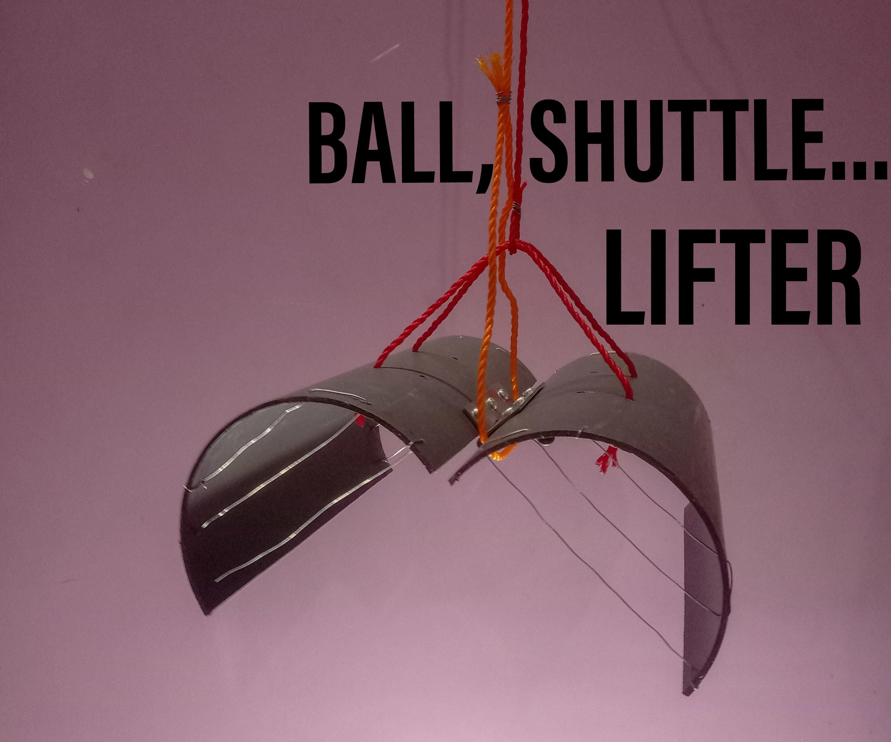Lift Ball, Shuttle From Terrace