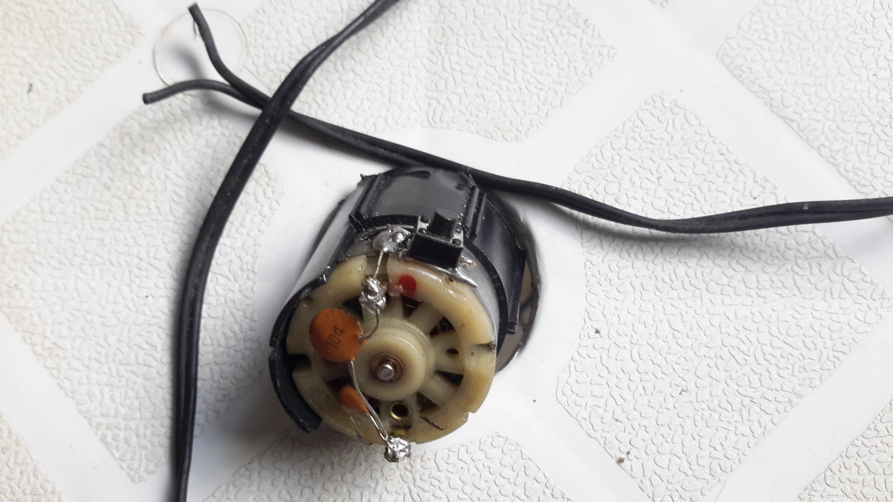 Power Cable and Push-button