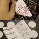 """How to Make a """"Magic"""" Weaved Pocket Weekly Timetable with Hidden Pages"""