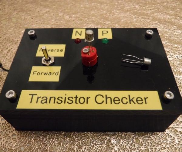 Simple Transistor Checker