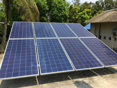 Select the Solar Panel