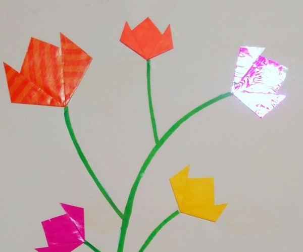 How to Make Origami Lotus