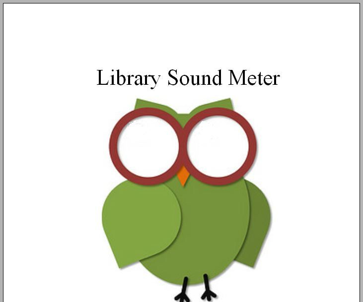 Library Sound Meter