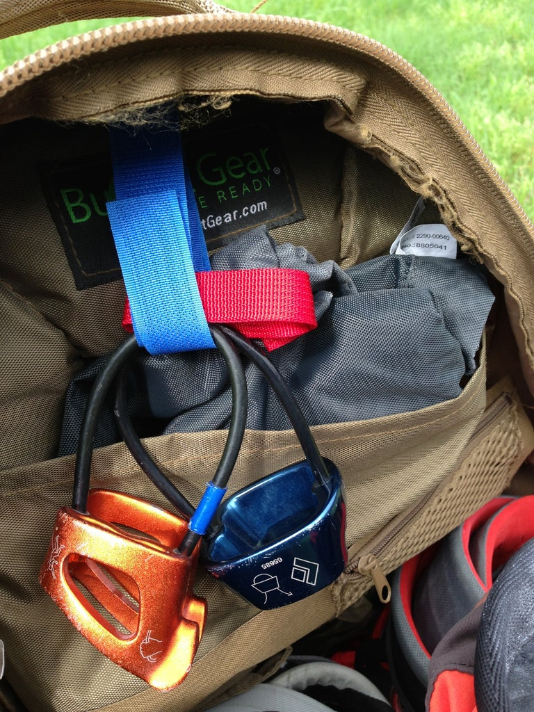 Packing Your Daypack for the Crag