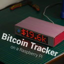 Bitcoin Tracker Using a Raspberry Pi
