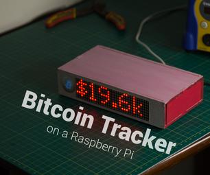 Bitcoin Tracker Using a Raspberry Pi