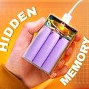 USB Flash Drive Hidden Inside the Power Bank
