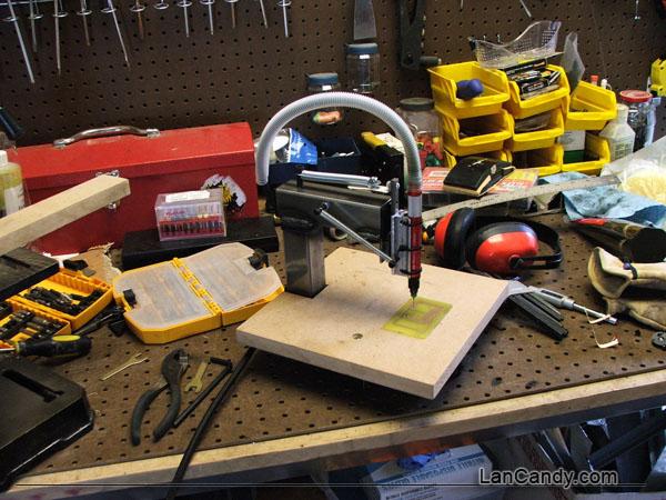$30 High-Speed PCB Drill Press