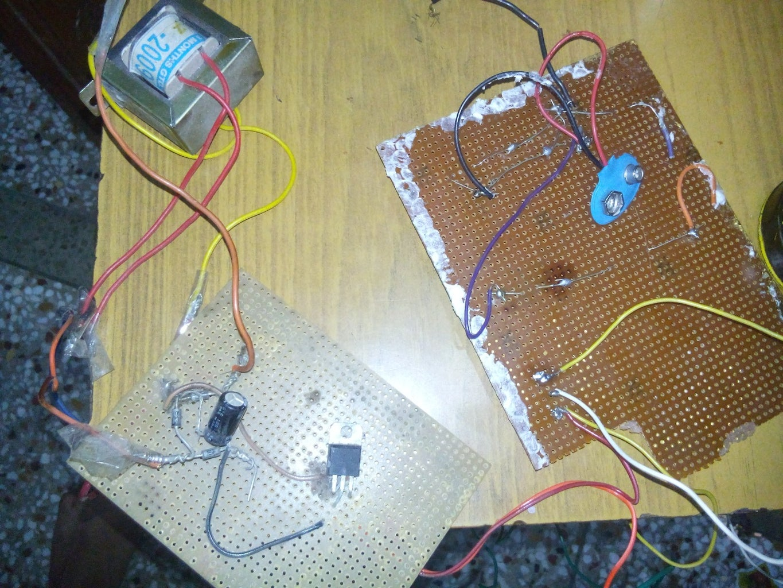 Installing (home Made Power Supply Rectifier and 230v/9v Transformer)