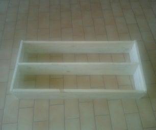 Simple Pallet Book Shelf