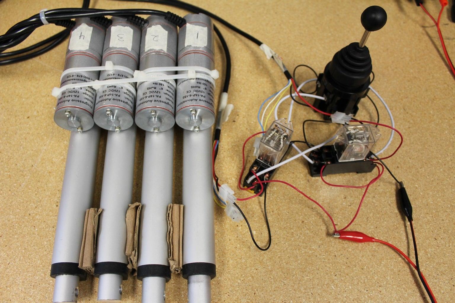 Wiring the Joystick