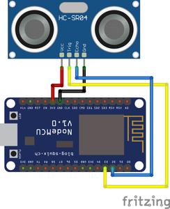 Interfacing Ultrasonic Sensor With NodeMCU