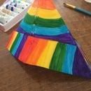 Rainbow Sailor Hat