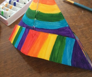Rainbow Sailor Hat