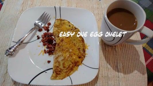 Easy One Egg Omelet