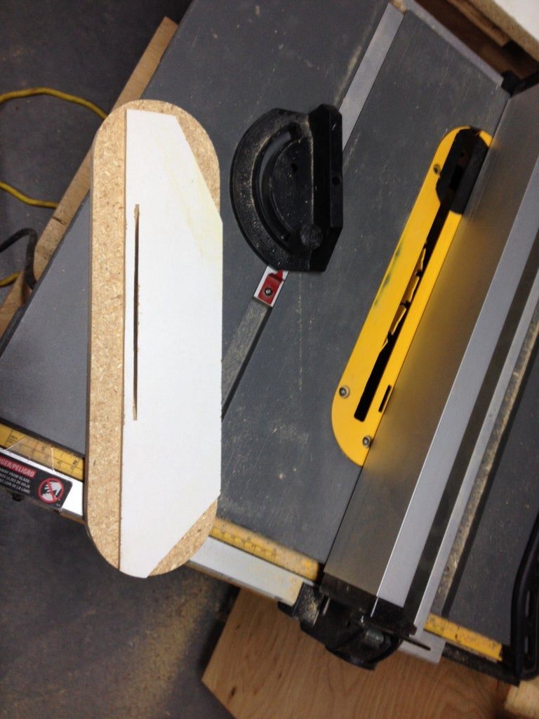 Cut the Blade Slot & Recess the Base