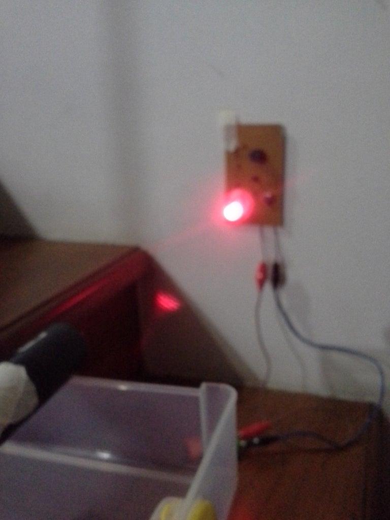 Easy Laser Security System