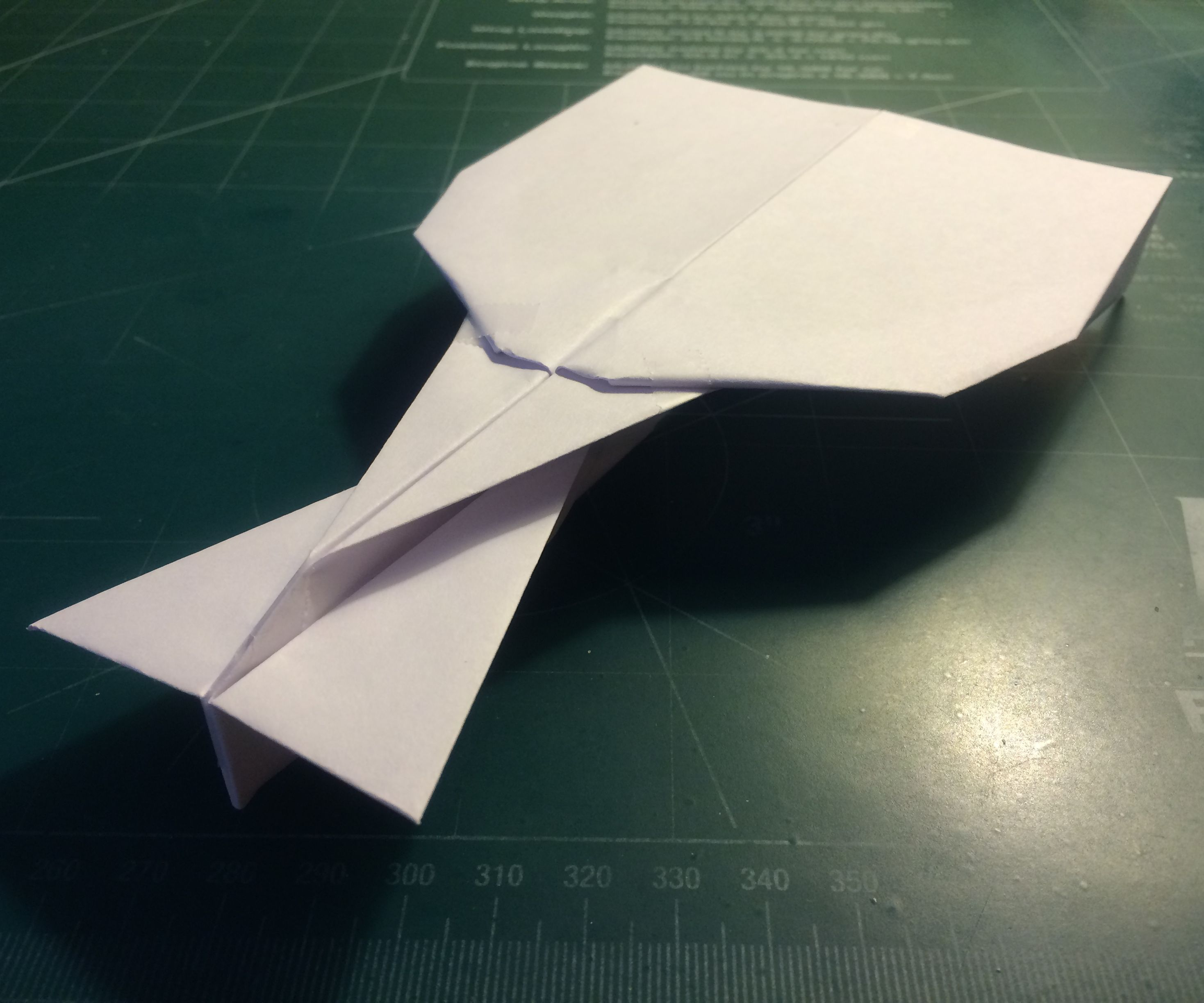 How To Make The Turbo UltraVulcan Paper Airplane