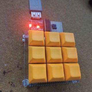 DIY Programmable 6-Key Keyboard (DigiSpark)